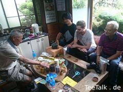 Tee-Ausflug mit Christian