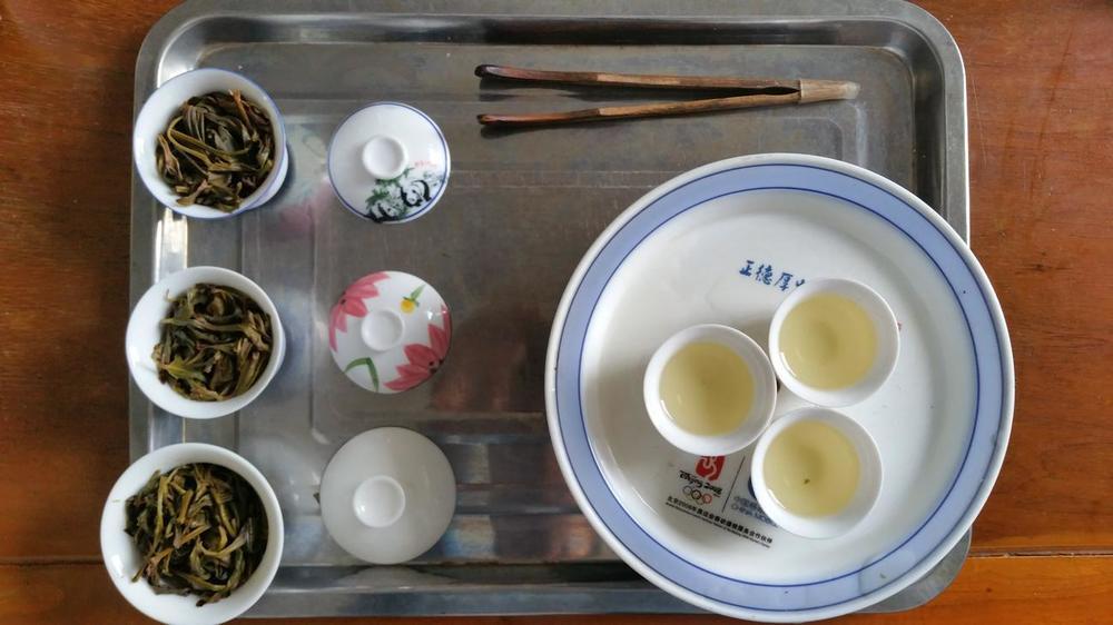 Chauzhou style tea tasting