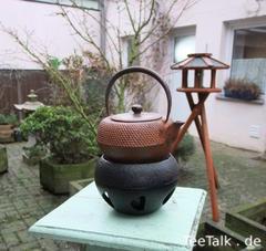 Eisenkanne aus Kyoto