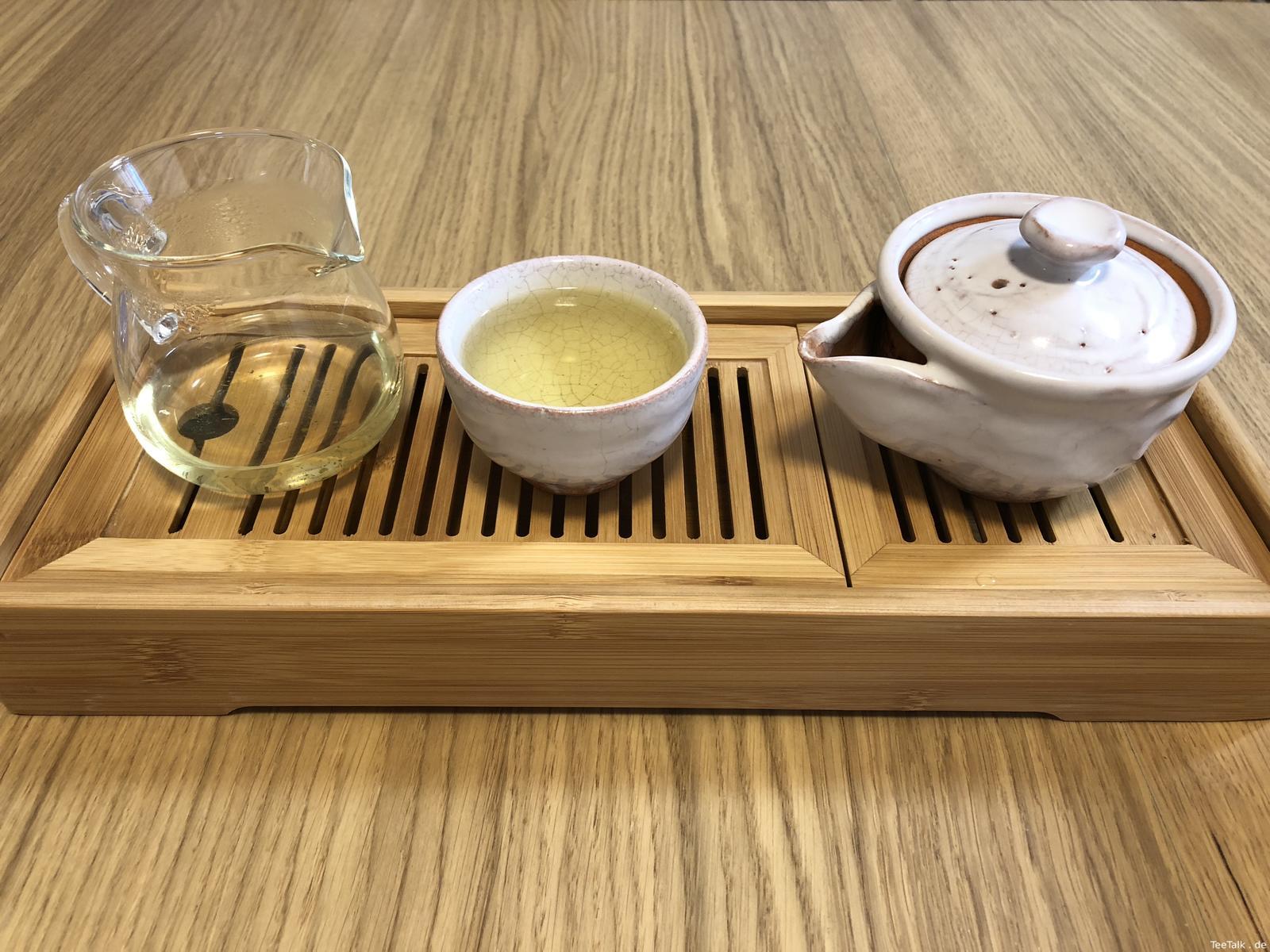 Kōshun Ōlong Tea erster Aufguss