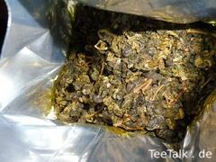 Der 25 Jahre alte Alishan-Tee