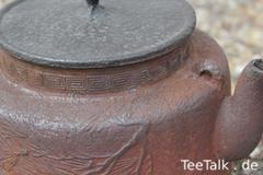 Reparierte Tetsubin